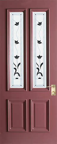Custom Lead Door
