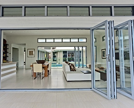 Bradnams Signature </br> Aluminium Bi-Fold Door