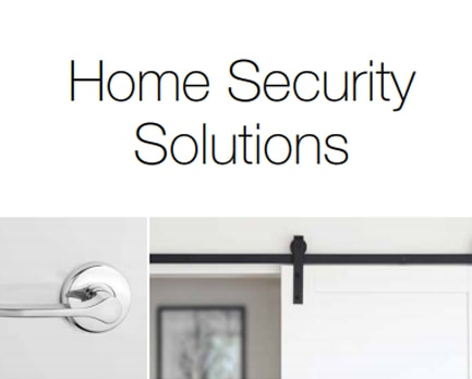 Home Security<br>Solutions